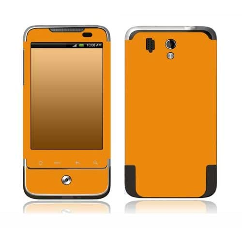 Simply Orange Design Decorative Skin Cover Decal Sticker for HTC Legend Cell Phone