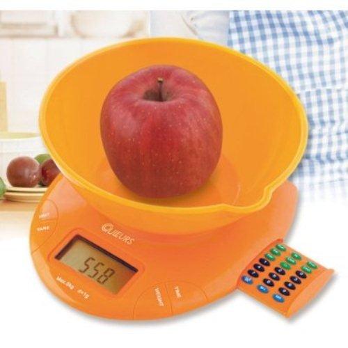 COULEURS Krul Calorie Counter ici l'?chelle Orange (japon importation)