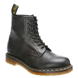 Dr. Martens Men\'s 1460 Re-Invented 8 Eye Lace Up Boot,Black Nappa Leather,8 UK (9 M US Mens)