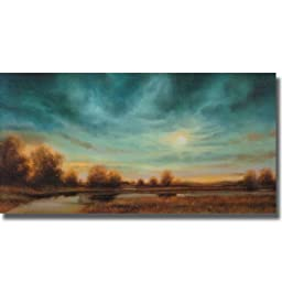 Evening Approaches by Gregory Williams Stretched Canvas (Ready to Hang)