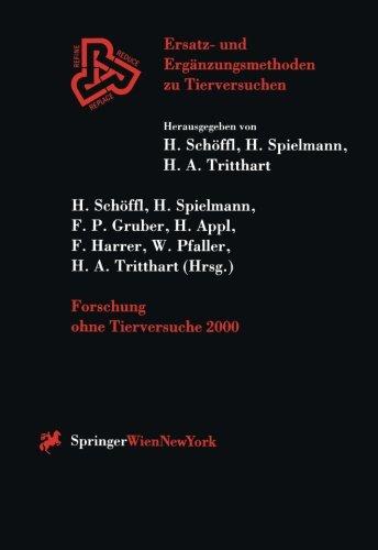 Forschung ohne Tierversuche 2000 (Ersatz- und Erg PDF