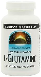 Source Naturals L-Glutamine Powder, 3.53 Oz (100 G) by Source Naturals,