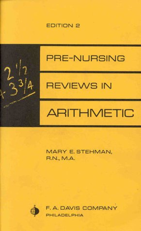 Pre-Nursing Reviews in Arithmetic