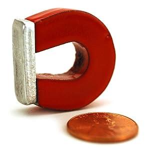 1in Alnico Horseshoe Magnet