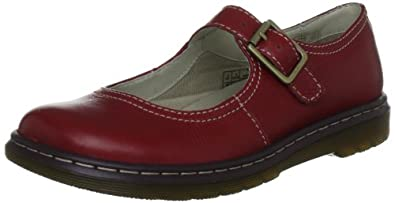 Dr. Martens KARA Broadway BRIGHT RED, Damen Mary Jane Halbschuhe, Rot (Bright Red), 40 EU (6.5 Damen UK)
