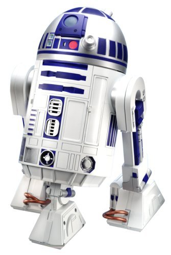 Star Wars Interactive R2D2 Astromech Droid Robot by Hasbro (R2d2 Robot Interactive compare prices)