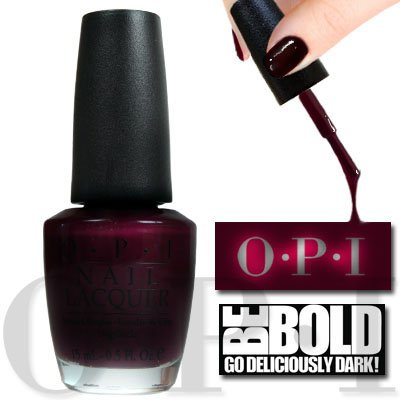 OPI Nails - Smalto per Unghie Lincoln Park After Dark Purple - Deliciously Dark Colour W42