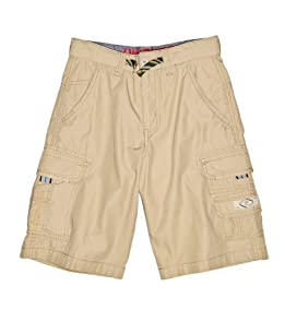 LITTLE BOYS Reed Drawcord Cargo Shorts