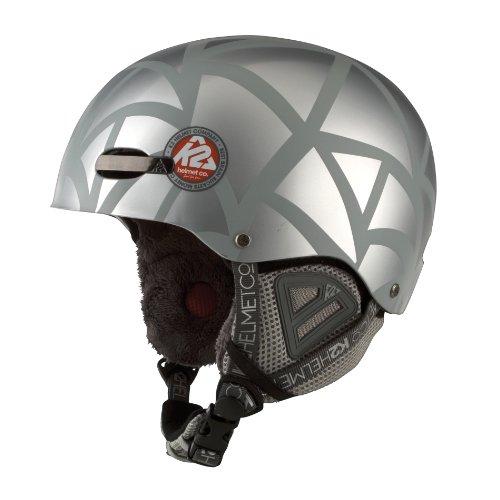 K2 Herren Skihelm Indy Pro, Grey, S, 1003001.1.2.S