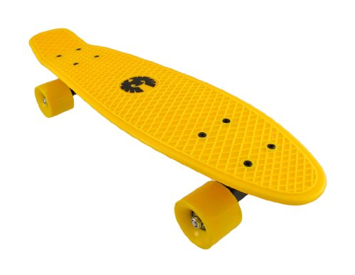 Rekon Neon Yellow Banana Cruiser Skateboard 22 1/2 In. X 6 In. рамка 3 пост никель алюминий schneider electric unica top mgu66 006 039