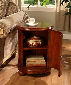 Amazon Com Birch Drum Table This Decorative Accent Table
