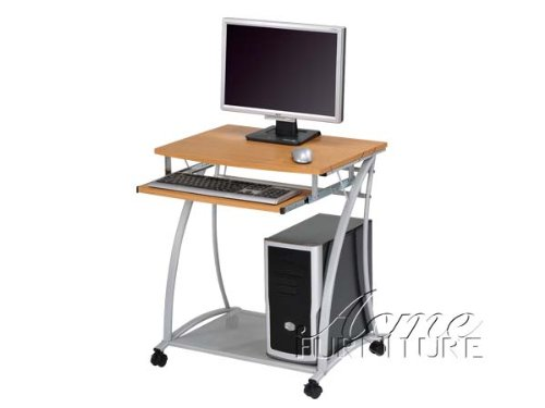 Buy Low Price Comfortable Computer Desk with Wood Top Acs000116 (B004SZ9VUS)