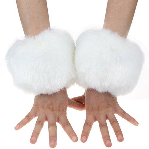 un-par-de-pelo-pantalones-de-deporte-para-mujer-fox-muneca-anillo-de-mezcla-de-especias-fuzzy-calent