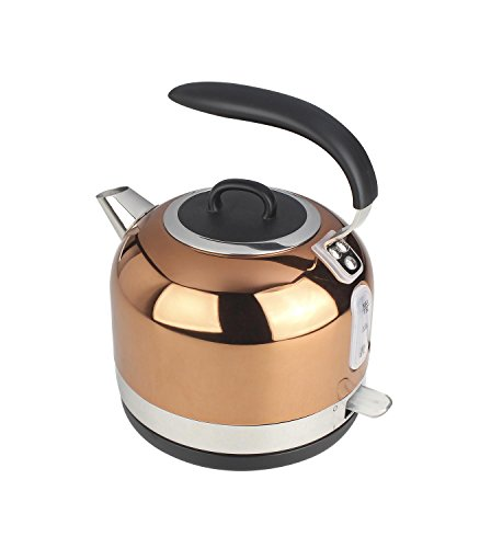 EGL Copper Electric Dome Kettle, 1.7 Litre Capacity, 3000 Watt