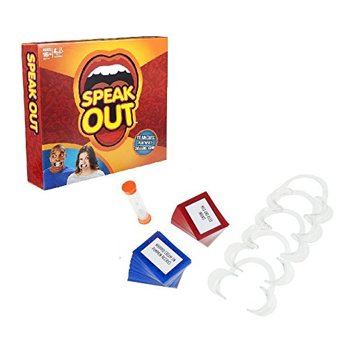 Speak Out Game (Mouth Guard Challenge Game) (This game is stupid fun. We played it today)