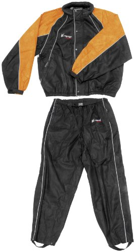 Frogg Toggs Hogg Togg Rainsuit - 2X-Large/Black/Orange
