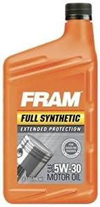 FRAM Full Synthetic 5W-30 Motor Oil by FRAM