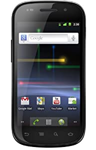 Samsung Nexus S i9023 Smartphone (10,16 cm (4 Zoll) Super Clear LCD Display, Touchscreen, Android 2.3, 5 Megapixel Kamera) schwarz/silber