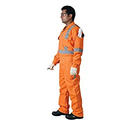 Saviour Safety BPSAV-BSC180L Workwear Cotton Coverall, 180 GSM, Large