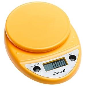 Escali Primo Digital Scale, Yellow