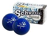 Pair of Schwetty Blue Balls Golf Balls