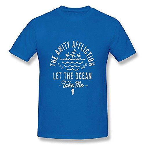 Men's The Amity Affliction Let The Ocean Take Me T-Shirts Black