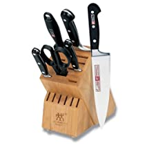 Hot Sale Zwilling J.A. Henckels Twin Pro S 7-Piece Knife Set with Block