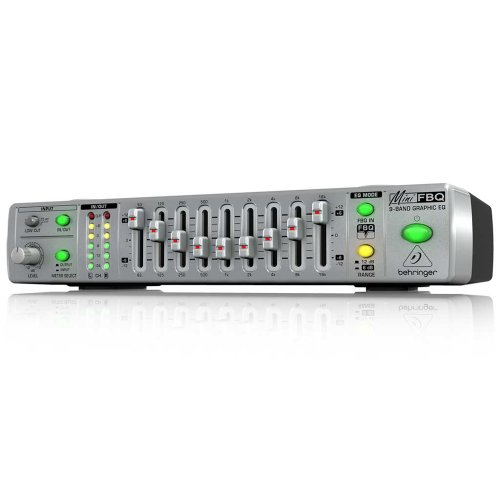 Behringer Fbq800 Ultra-Compact 9-Band Graphic Equalizer