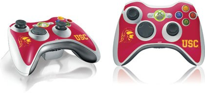 Skinit University of Southern California USC Vinyl Skin for 1 Microsoft Xbox 360 Wireless Controller
