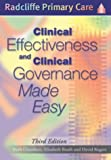 img - for Clinical Effectiveness and Clinical Governance Made Easy (Radcliffe Primary Care) book / textbook / text book