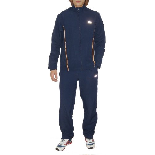 2 PIECE SET: Mens Fila Pro Tennis / Running Track Suit Includes: Full Zip Jogging Jacket & Sport Pants - DRI-FIT (Size: XL)