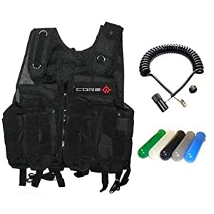 Tactical Vest Scenario Package - Camo - Standard Remote