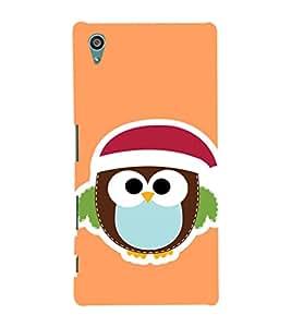 EPICCASE Cute Bird Face Mobile Back Case Cover For Sony Xperia Z5 (Designer Case)