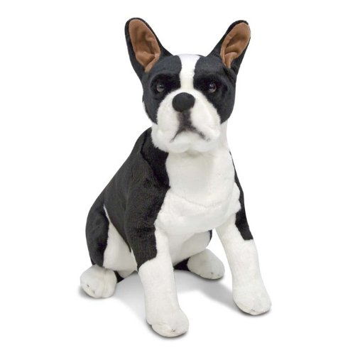 41XWgf10VPL Melissa & Doug Boston Terrier Plush