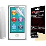 [5 Pack] TECHGEAR® CLEAR LCD Screen Protector Guards With Cleaning Cloth for Apple iPod NANO 7 / 7th Generation / 16GB