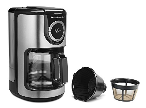 Kitchenaid Coffee Maker Kcm1202ob Cleaning Instructions : KitchenAid KCM1202OB 12-Cup Glass Carafe Coffee Maker - Onyx Black Home Garden Dining Appliance ...