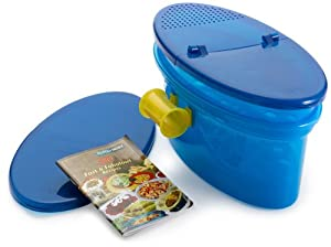Amazon.com: Pasta N More 5 Piece Microwave Pasta Cooker