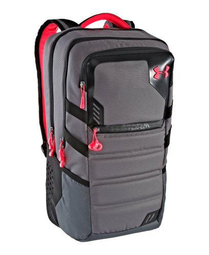 Under Armour UA Parralux Storm Backpack One Size Fits All Graphite
