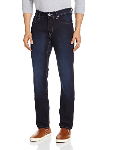 Flying-Machine-Mens-Michael-Tapered-Fit-Jeans-8907259943350FMJN370834Super-Dark-Indigo-and-Tint