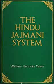 jajmani system South asia: development & social change dr anita m weiss intl 442/542, fall 2016.