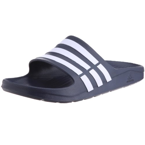 Adidas Performance Mens Duramo Slide-2 Running Shoes G15892 New Navy/White/New Navy 8 UK, 42 EU