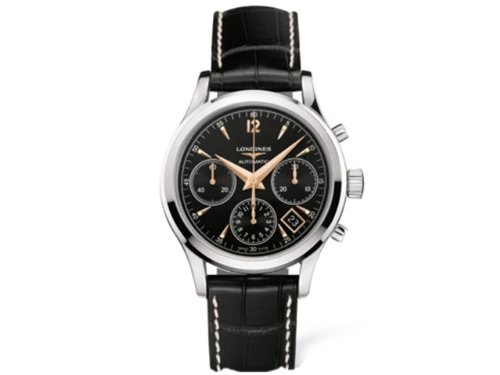 Longines Flagship Heritage Chronograph Mens Watch 27504560