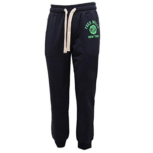 2681Q pantalone sportivo FRED MELLO blu pantalone uomo pant men [L]