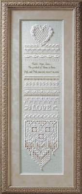 Heirloom Wedding Sampler, Cross Stitch from Victoria Sampler