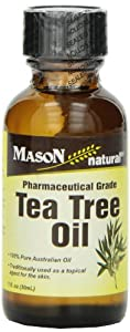 Mason Vitamins Tea Tree Oil 100% Pure Australian Oil Pharmaceutical Grade, 1-Ounce
