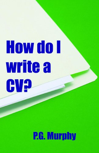 How do I write a CV?