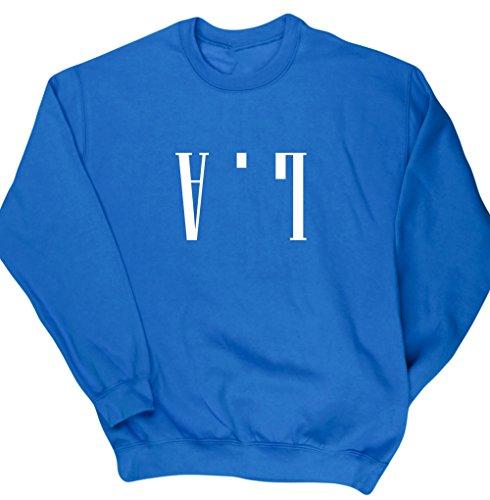 hippowarehouse-la-upside-down-unisex-jumper-sweatshirt-pullover