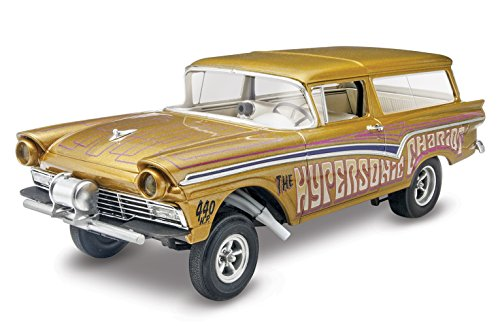 Revell '57 Ford Gasser 2-in-1 Plastic Model Kit (1 25 Scale Tank Model Kit compare prices)