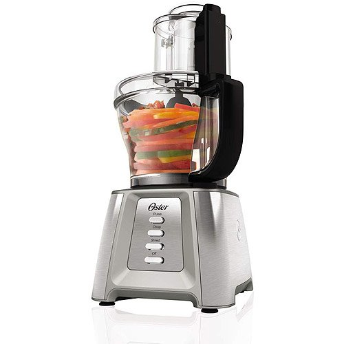 14-Cup Food Processor w/ 5-cup mini chopper bowl 2 stainless-steel blades 550W