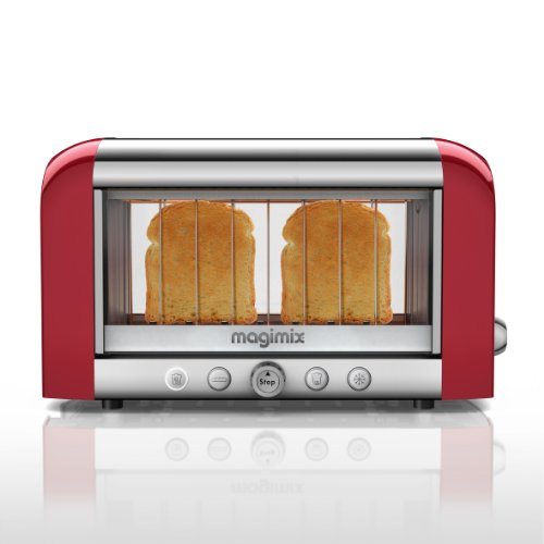 11528vision Toaster, 11528 Red 11528 5018399115286 By Magimix